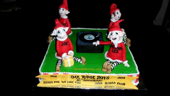 #226- Oak Ridge Boys Cake