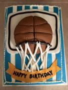 #459-Michael'sBasketball Cake