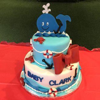 #456- Baby Clark's Ocean Cake
