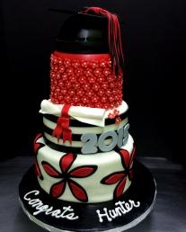 #442- Hunter's Graduation Cake
